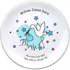 baby birth plates personalised baby boy birth plate children s gifts