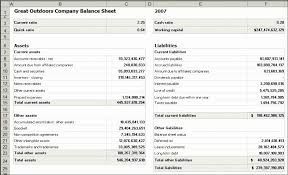 simple financial statement template examples
