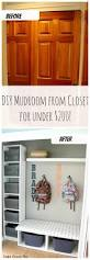 how we turned a closet into a mudroom for under 200 finding