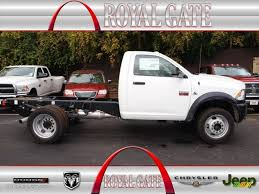 Dodge Ram 4500 - 2012 bright white dodge ram 4500 hd st regular cab chassis