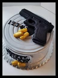 Meme Birthday Cake - glock pistol cake birthday cakes target and birthdays