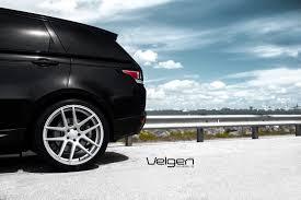 silver range rover black rims range rover sport velgen wheels vmb5 matte silver 22x10 5