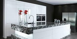 cuisine laque blanc cuisine blanche brillante amazing cuisine blanche brillante with