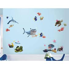 WALL DECALS Kids Bathroom Bedroom Stickers Disney Room Decor EBay - Disney wall decals for kids rooms