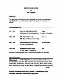 sample resume secretary position resume for your job application