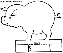 beautiful pig template printable 29 for download coloring pages