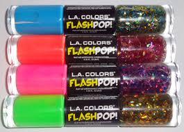 breezythenailpolishlover l a colors flash pop review swatches