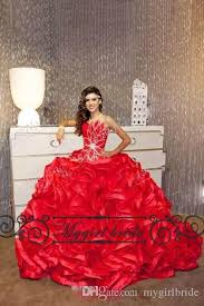 dresses for sweet 15 cheap bling ruffled quinceanera dresses gowns pageant