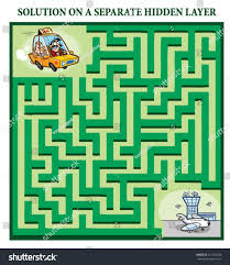 Home Design Game Help by Taxi Drivers Maze Game Help Lost Stock Vector 131192258 Shutterstock