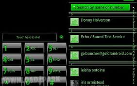 go contacts ex apk green go contacts ex android app free in apk