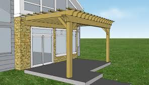 pergola attached to house kit pergola design ideas