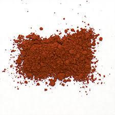 red ochre colourlex