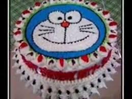 tutorial gambar kepala doraemon inilah resep dan cara membuat kue ulang tahun doraemon youtube