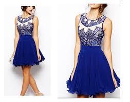 dress party dress blue dress short prom dress homecoming dress