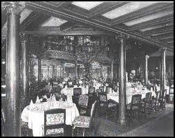 titanic first class dining room first class life on the titanic alookthrutime