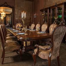 Dining Room Accent Furniture Platine De Royale Lt Espresso Michael Amini Furniture Designs