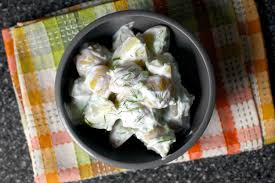 Ina Garten Salad Recipes by Tzatziki Potato Salad U2013 Smitten Kitchen
