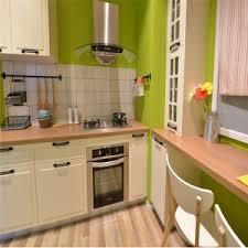 cuisine chaude couleur chaude de style européen cuisine design en pvc couleur