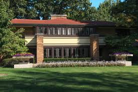 Prairie Style House Design Millikin Place Prairie Style Homes Illinois In Focus A