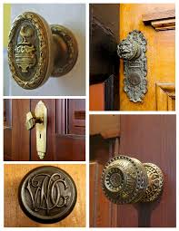 Brass Door Knobs Form U0026 Function Of Architectural Features The Artistry Of Vintage