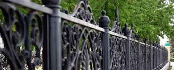imposing decoration wrought iron fence cost magnificent 2017