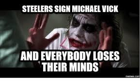 Mike Vick Memes - 25 best memes about steelers meme generator steelers meme