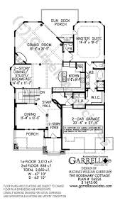 cottage floor plan rosemary cottage house plan house plans by garrell associates inc