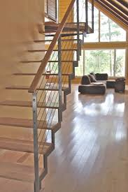 Modern Stair Banister Modern Railings Custom Stairs Chicago Modern Staircase Design