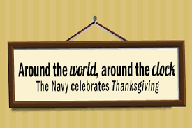 what s thanksgiving like on a deployed navy aircraft carrier