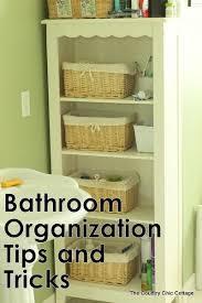 Organizing Ideas For Bathrooms by 405 Best Organize Bathroom Storage Images On Pinterest Bathroom