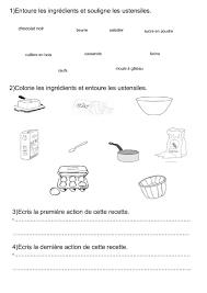 recette de cuisine ce1 écrire une recette ce1 ce2 cm1 productions d écrits écrire