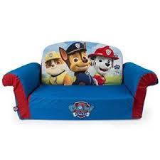Toddler Sofa Sleeper Flip Open Sofa Paw Patrol Foam Seat Toddler Bed Lounger Play