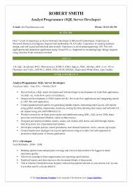 Programming Resume Examples by Edi Analyst Resume Cv Cover Letter