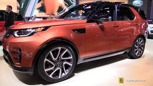 discovery land rover 2017 interior 2017 land rover discovery hse luxury exterior and interior