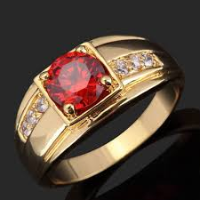 ruby rings sale images Wholesale sale women man fashion ruby ring unisex expensive red jpg