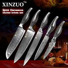 Japanese Kitchen Knives For Sale High Quality Kitchen Knives Set Japanese Vg10 Damascus Steel