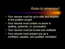Punctuation In Resumes Resume Writing You Are What You Write Ppt Video Online Download