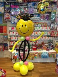 graduation balloon man balloon decor pinterest