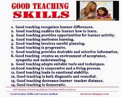 bonvictor blogspot com good teacher skills and lecture method