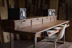 Recording Studio Desk Design by Reclaimed 88 Key Studio Desk For Audio Video Music Film