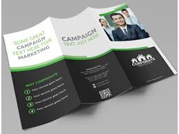 brochure 3 fold template psd corporate trifold brochure vol 1 by jason lets just design