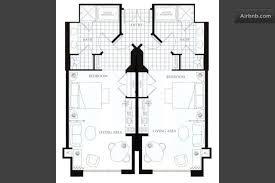 mgm grand signature 2 bedroom suite mgm signature 2 bedroom suite floor plan glif org