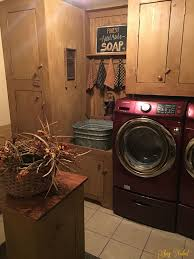 Primitive Laundry Room Decor 14 Basement Laundry Room Ideas For Small Space Makeovers