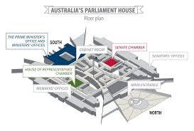 us senate floor plan modern australias parliament house multimedia parliamentary peo 0907