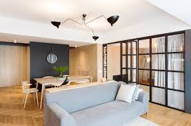 Desain Interior by Desain Interior Apartemen Komunikatif Fleksibel Dan Dinamis