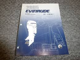 2005 evinrude 75 90 hp e tech model outboard motor service repair