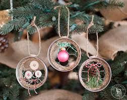 crafty 15 inspiring diy ornaments from found objects