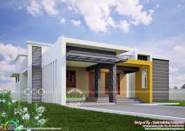 contemporary model one floor home 1700 sq ft kerala home design