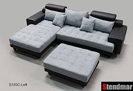 product reviews buy 3pc modern black grey sectional sofa chaise