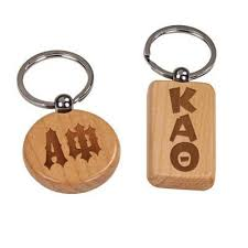 wooden keychains engraved wooden keychain accessory and merchandise